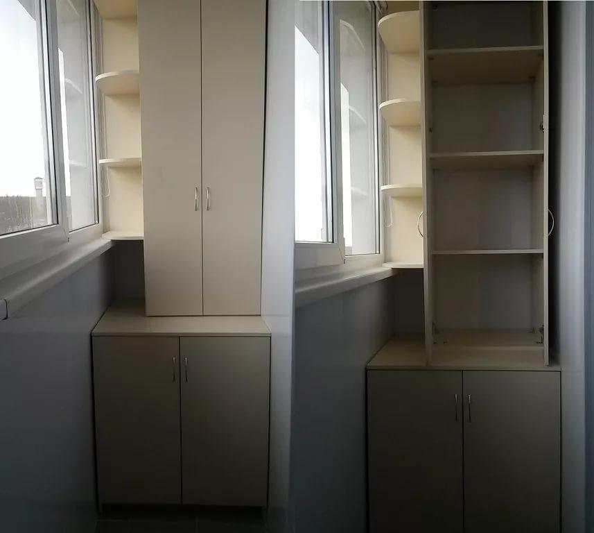 изготовление шкафа на балкон